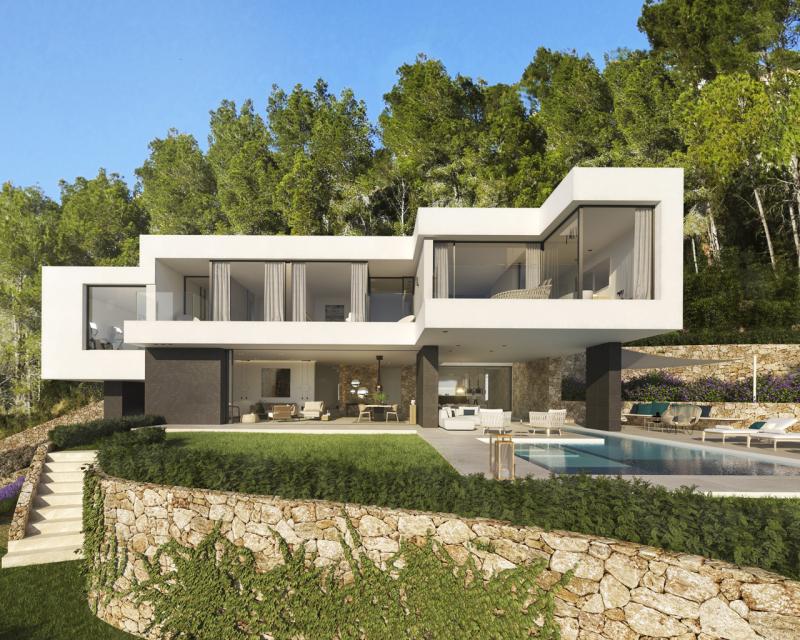 Designer Villa der Extraklasse mit Pool und Meerblick in Port DÀndratx zum Kauf
